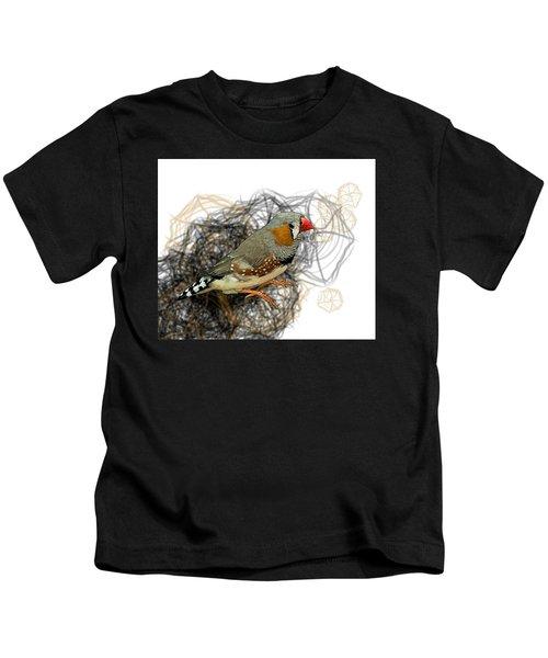 Z Is For Zebra Finch Kids T-Shirt