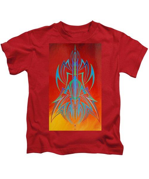 Desert Fire Storm Kids T-Shirt