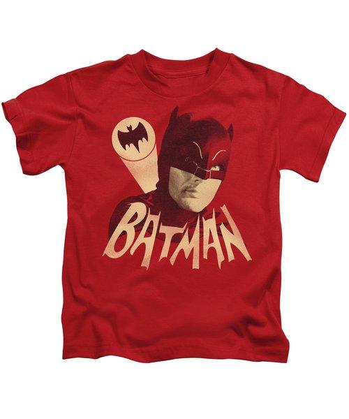 Batman Classic Tv - Bat Signal Kids T-Shirt