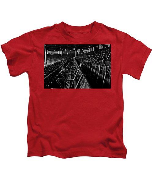 Bostons Fenway Park Baseball Vintage Seats Kids T-Shirt