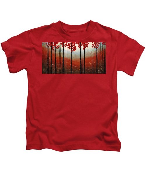 Red Blossom Kids T-Shirt