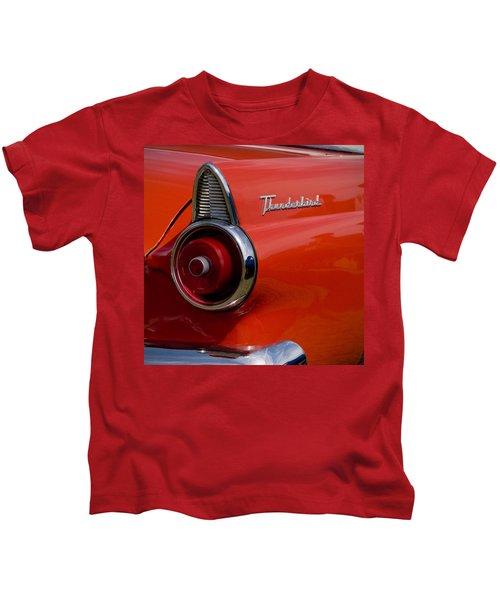 1955 427 Thunderbird Tail Light Kids T-Shirt