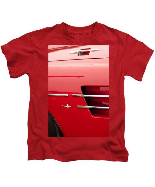 1958 Pegaso Z-103 Touring Berlinetta Side Emblem -1195c Kids T-Shirt