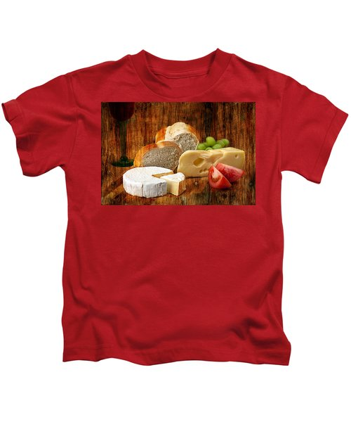 Norwegian Jarlsberg And Camembert Kids T-Shirt