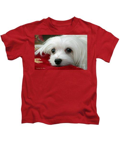 Snowdrop The Maltese Kids T-Shirt
