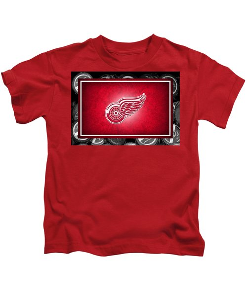 Detroit Red Wings Kids T-Shirt