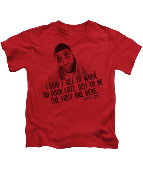 30 Rock - Get To Work Kids T-Shirt by Brand A