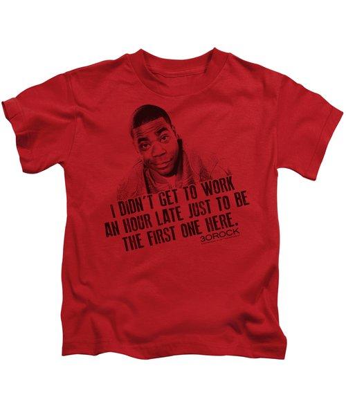30 Rock - Get To Work Kids T-Shirt