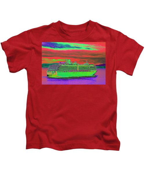 A More Colorful Hal Kids T-Shirt