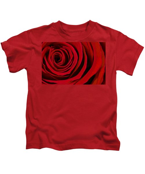 A Rose For Valentine's Day Kids T-Shirt