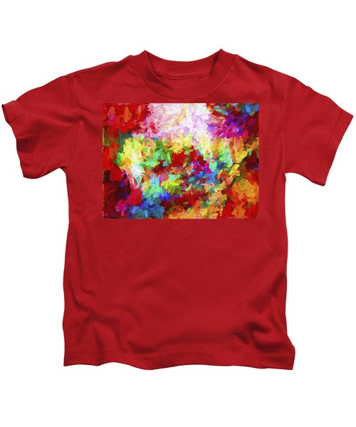 Abstract Artwork A8 Kids T-Shirt