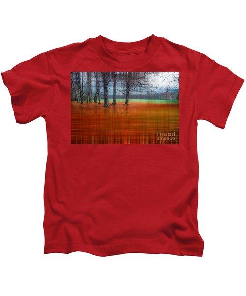 abstract atumn II Kids T-Shirt