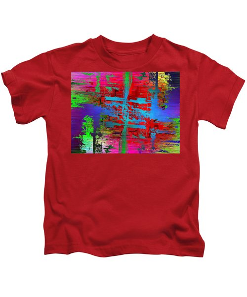 Abstract Cubed 47 Kids T-Shirt