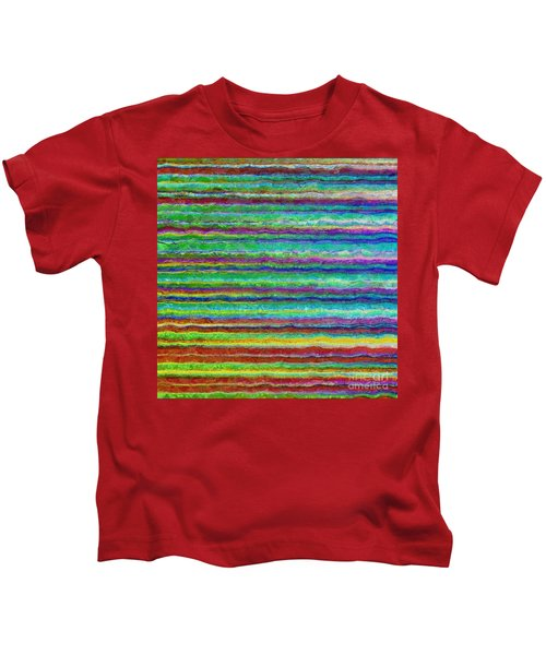 Abstract Lines 8 Kids T-Shirt
