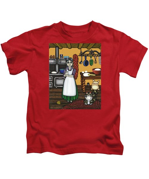 Abuelita Or Grandma Kids T-Shirt