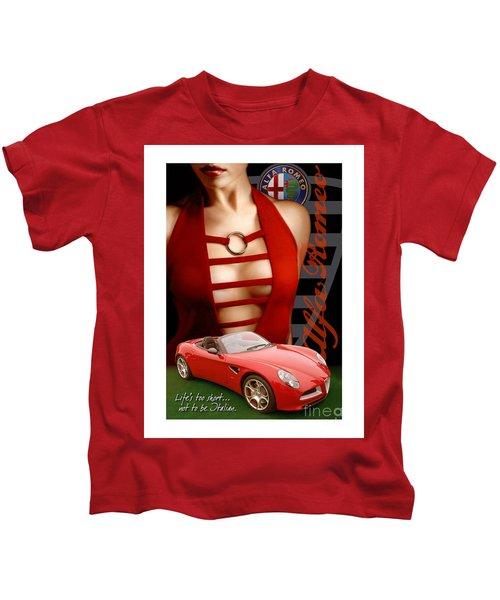Alfa Romeo Dress Kids T-Shirt