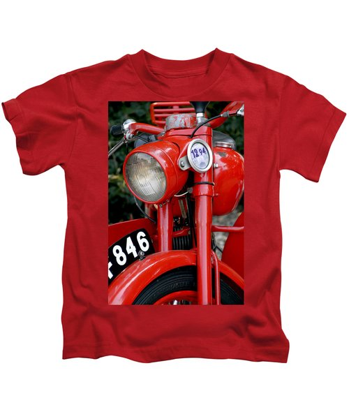 All Original English Motorcycle Kids T-Shirt