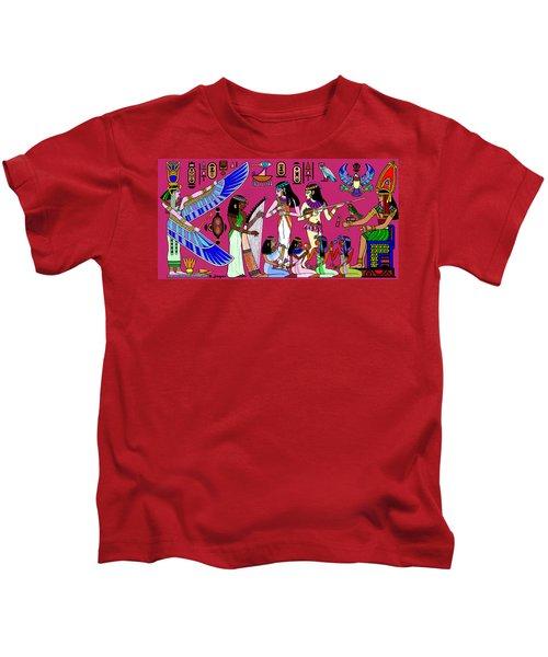 Ancient Egypt Splendor Kids T-Shirt