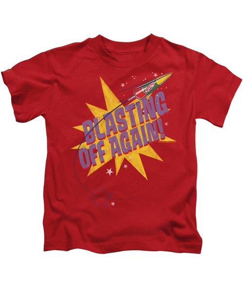 Astro Pop - Blast Off Kids T-Shirt