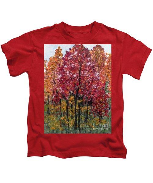 Autumn In Nashville Kids T-Shirt