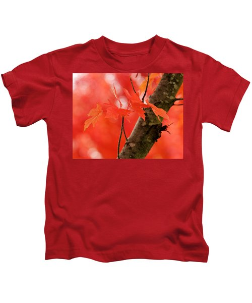 Beauty Of Red Kids T-Shirt