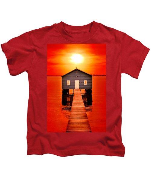 Blood Sunset Kids T-Shirt