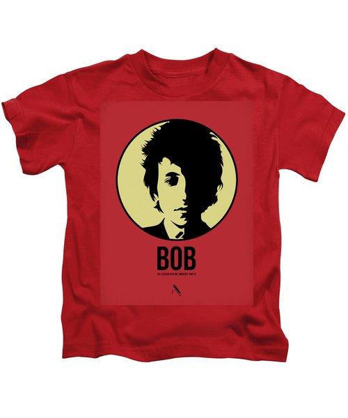 Bob Poster 1 Kids T-Shirt by Naxart Studio