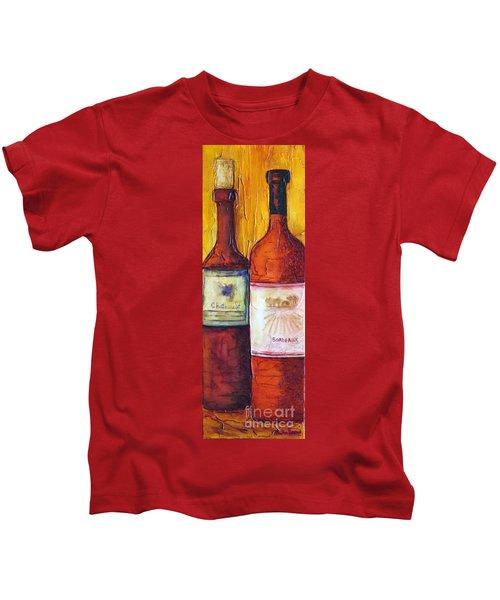 Bordeaux Vino Kids T-Shirt