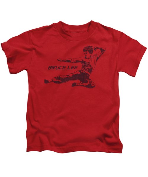 Bruce Lee - Line Kick Kids T-Shirt