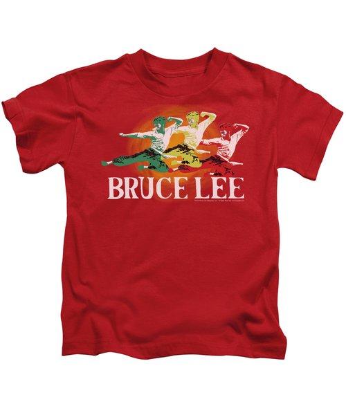 Bruce Lee - Tri Color Kids T-Shirt