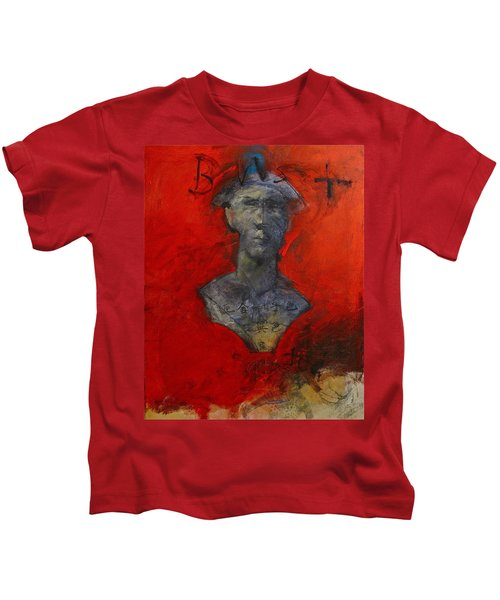 Bust Ted - With Sawdust And Tinsel  Kids T-Shirt