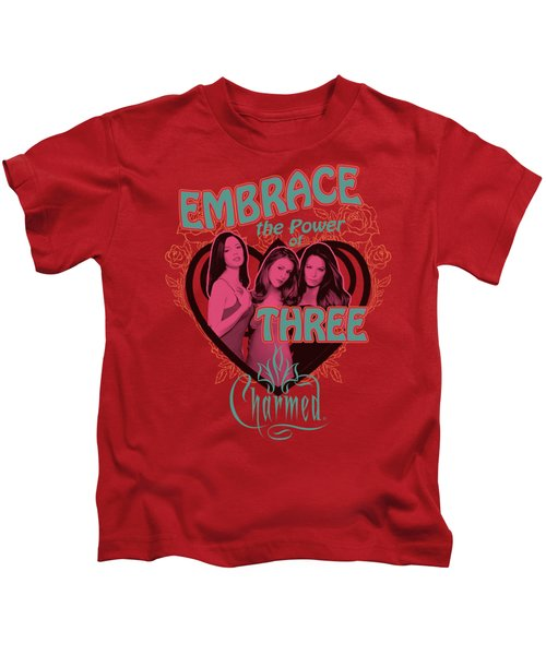 Charmed - Embrace The Power Kids T-Shirt