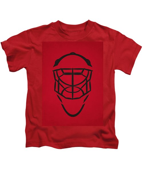 Chicago Blackhawks Goalie Mask Kids T-Shirt
