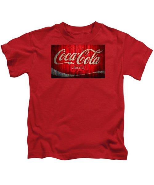 Coca Cola Barn Kids T-Shirt