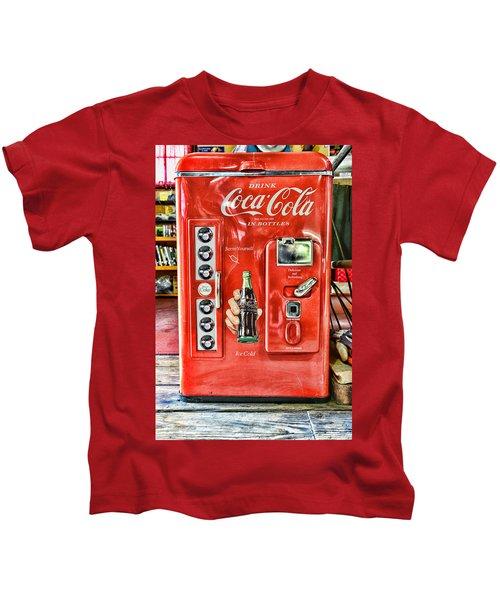 Coca-cola Retro Style Kids T-Shirt