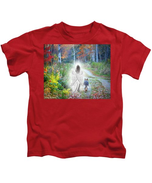 Come Walk With Me Kids T-Shirt