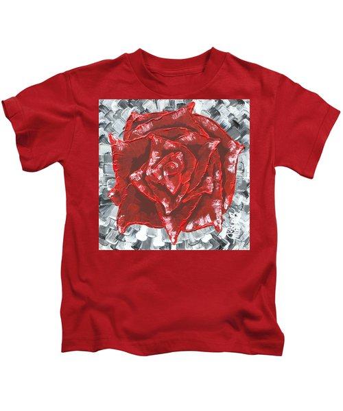 Concrete Rose  Kids T-Shirt