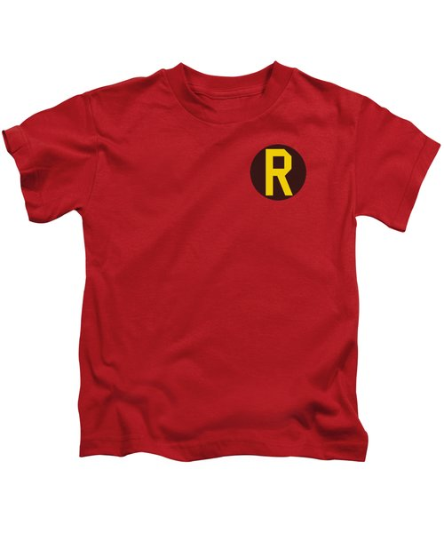 Dc - Robin Logo Kids T-Shirt by Brand A