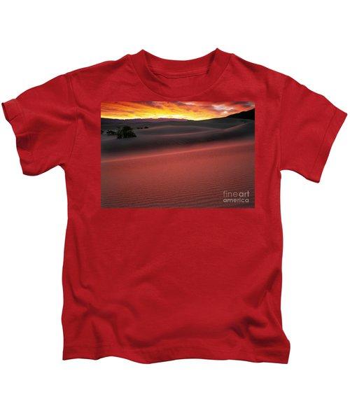 Death Valley Sunrise Kids T-Shirt