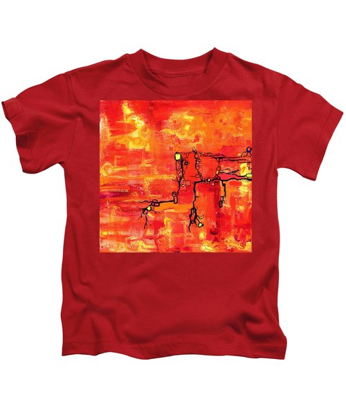 Dendritic Echoes Kids T-Shirt