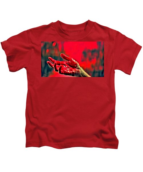 Dexter Bloody Hand Kids T-Shirt