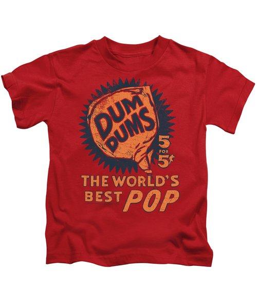 Dum Dums - 5 For 5 Kids T-Shirt