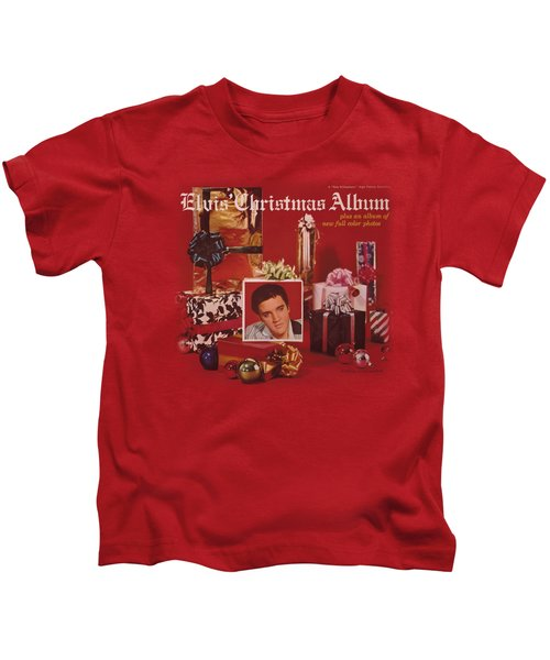Elvis - Christmas Album Kids T-Shirt