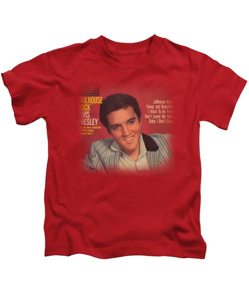 Elvis - Jailhouse Rock 45 Kids T-Shirt
