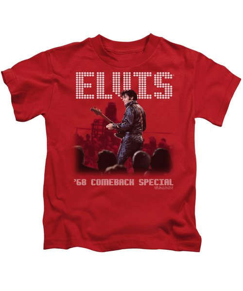 Elvis - Return Of The King Kids T-Shirt