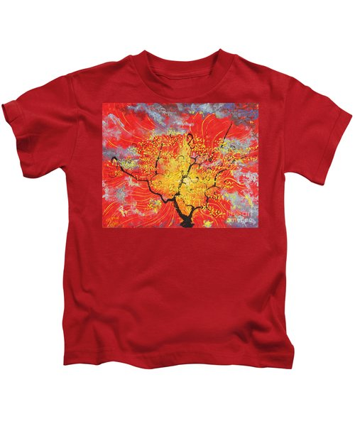 Embracing The Light Kids T-Shirt