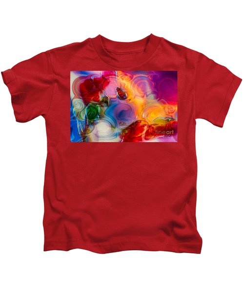 Enchanting Flames Kids T-Shirt