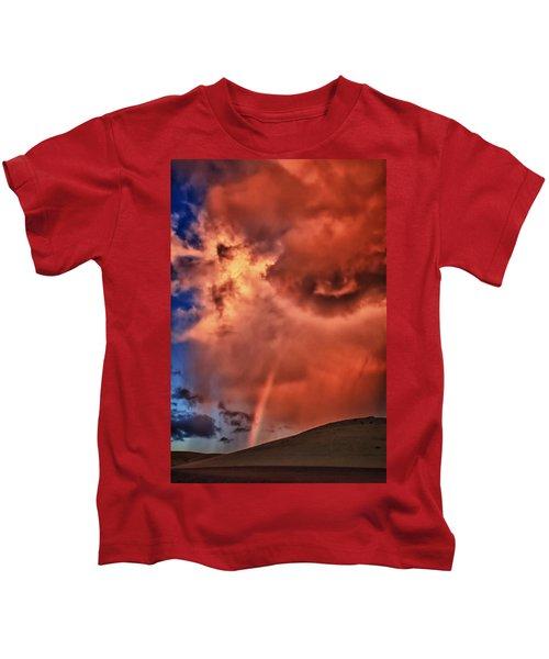 Eye Of The Storm Kids T-Shirt
