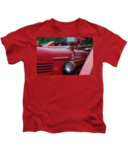 Farmall Tractor Kids T-Shirt