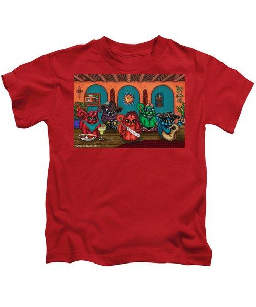 Fiesta Cats II Kids T-Shirt